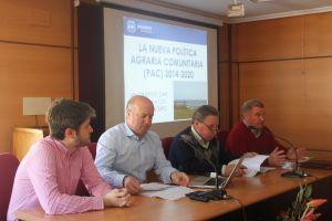 Luis Venta destaca el gran trabajo de Arias Cañete en la negociación de la nueva PAC, que traerá a Asturias mil millones de euros hasta 2020